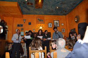 Gente grande, como Sergio, Cesar, MIguel, ... en la Topera