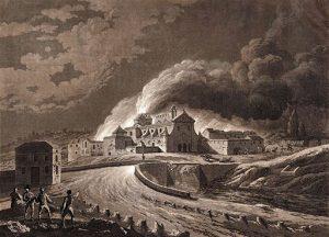Convento de San José 1808-incendio