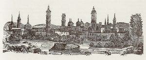 Vista de Zaragoza 1841