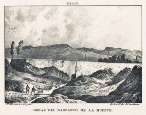 Acueducto Barranco de la Muerte 1833
